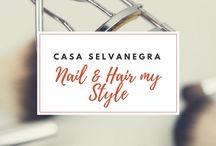 Nail and hair my Style