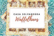 Waffelhaus / Waffeln sind der Hit! Die Sammlung der tollsten Rezepte! Wafers are always the best. A collection of great recipes.