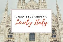 Lovely Italy / Currently mostly Tuscany and Milan