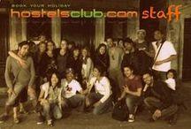 HostelsClub Office and Team