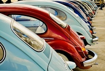Beetles & VW / Vintage, beautiful angles and iconic!