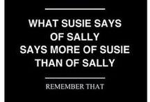 Sayings and stuffs