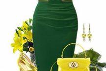FASHION: Yellow * Green