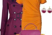 FASHION: Purple * Orange