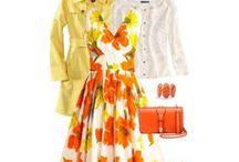 FASHION: Yellow * Orange