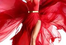 FASHION: Red / Red * Deep Red Fashion inspirations