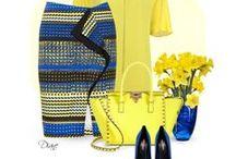 FASHION: Yellow * Blue