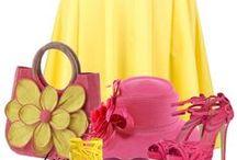 FASHION: Yellow * Pink