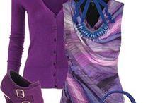 FASHION: Purple * Blue