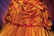 Fashion: Gold * Orange