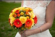 WEDDING: Yellow * Orange