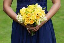WEDDING: Yellow * Blue