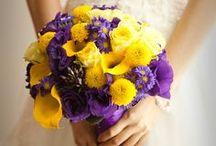 WEDDING: Yellow * Purple