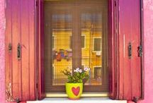 HOME: Yellow * Pink