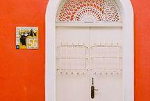 HOME: Orange * White