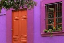 HOME: Purple * Orange