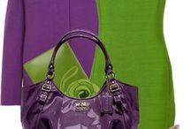 FASHION: Purple * Green