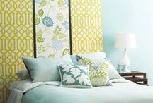 HOME: Pale Blue * Pale Yellow