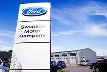 Swanson Ford / Swanson Ford, Pottery Road, Kingsteignton , Newton Abbot. Devon. UK.  TQ12 3BN. Please Call 01626 352000 or visit www.Swanson-Ford.co.uk