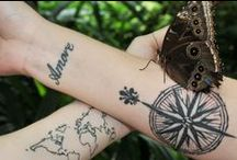 Travel Tattoos / Travel tattoos collection that will make you want to travel more