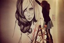 mural / #streetart #sketch #street