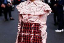 blouse trend / Blusen in allen Formen und Farben, rückenfrei, off shoulder, gestreift oder mit Volant Ärmeln  - voll im Trend und immer modisch!