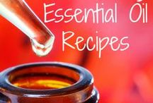 Essential Oil Recipes / I love essential oils and here are some great recipes and tips that save you money and are super easy to make.