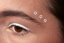 makeup / mainly eye make-up