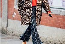leopard coat / Wie kombiniert man einen Leo Mantel? Hier gibt es geschmackvolle animal Print Jacken, stilvoll kombiniert!