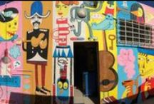 Street art: i nostri muri / L'arte sui muri della nostra provincia