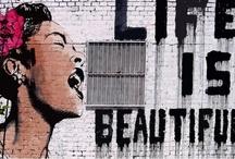 street art/graffiti / by Aleksandra Grabic