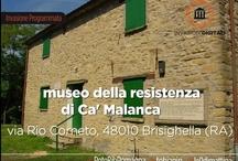 #invasionidigitali a Ca' Malanca / Il 25 Aprile 2013 insieme a @valegin, @sontada e MAB - Musei Archivi e Biblioteche Ravenna abbiamo organizzato l'invasione programmata al Museo della Resistenza e Centro Residenziale Ca' Malanca di #Brisighella (Ra). //   Vieni con noi e condividi i tuoi scatti con gli hashtag #invasionidigitali #camalanca! //  Invadere pacificamente un luogo simbolo della #Resistenza partigiana in Romagna ci sembra un ottimo modo per ricordare e far ricordare che la #cultura è anche #memoria.