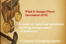 FDI India / #Pinning Foreign direct investment; investment by a company in a country other than that in which the company is based.