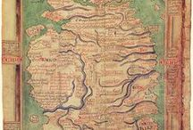 [Medieval Life] Maps From The Past / Pre-17th Century Maps / by Society for Creative Anachronism