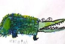 Krokodil | nvd 2014 / Leuke ideeen ter aanvulling van het voorlezen.