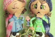 fofuchas ( muñecas y animales)