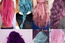 Hair dye ideas / Hair color.          Comment if you want to be added