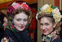 Folk Costume / Folk Costumes, Trajes Tipicos, Folk Fashion worldwide