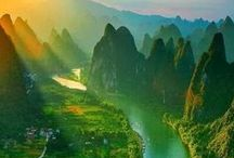 TRAVEL China / Such a big country - all the more beautiful areas, towns and landscapes to explore. So get your travel plans ready!