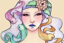 SarasArt / Illustration, Artwork