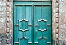 DOORS / Doors and Doorways have always facinated me, what lies beyond? Marc Coan Designs Inspiring designs www.marccoandesigns.com 505-837-8888