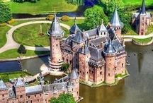TRAVEL >> Castles of the Word / I love castles and am happy that in my home country, Germany, we have so many of them. But the world has so many more to offer. So if you have one to share, let me know and I can add you to the board.