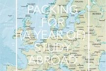 STUDY Abroad / If you want to add that special something to your CV, see just a little bit more of the world or make the most o your student life, I cannot recommend a semester abroad enough. And though all the talking will never be the same as doing it (and then you know why I am so passionate about this), this board tries to show you just why and how studyig abroad is easy and life changing.