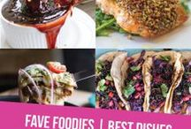 ❤️ Fave Foodies | Best Dishes / Not apologizing if you end up licking the screen. Find your favorite dishes from your favorite food bloggers. The most delicious and beautiful food images from dinner to dessert around the web.