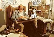 Roald Dahl / My love for the world's most scrumdiddlyumptious storyteller.