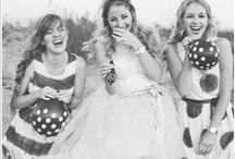 Moodboard: Spots & Stripes Wedding / Weekly wedding mood boards created by Curly Chops Design for DottyVintageWeddings.com  www.facebook.com/curlychopsdesign