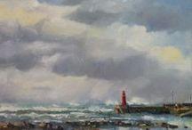 Pleinair Stilbaai Paintings Beth Lowe / en plein air paintings by Beth Lowe