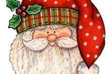 Santas / Jolly old fellas, reindeer & elves too!!