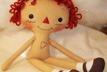 Raggedy Ann Dolls / Love Annie & Andy, too!!