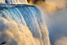 Waterfalls / The power of the water and the beauty of the nature